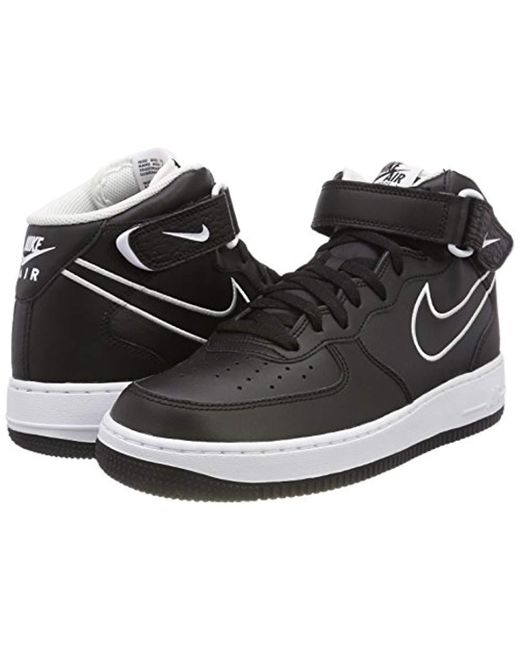 watch 895d9 58549 ... Nike - Air Force 1 Mid  07 Aq8650-001 Fitness Shoes, ...
