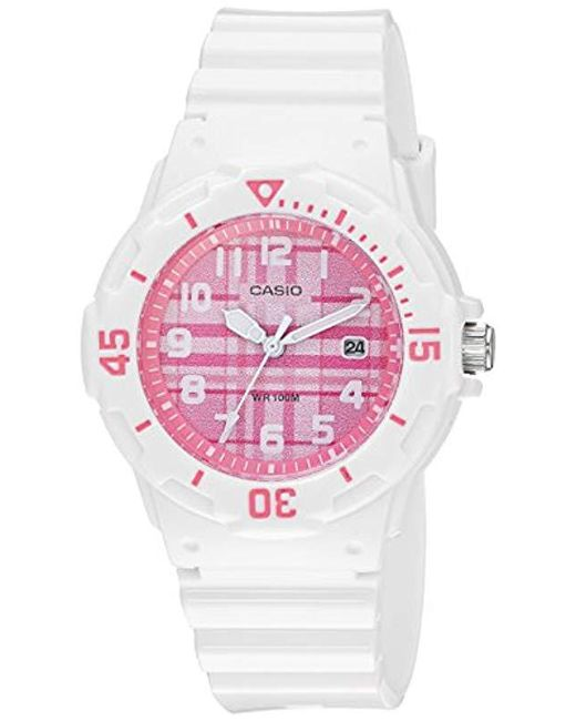 G-Shock - Multicolor Quartz Stainless Steel And Resin Casual Watch, Color White (model: Lrw-200h-4cvcf) - Lyst