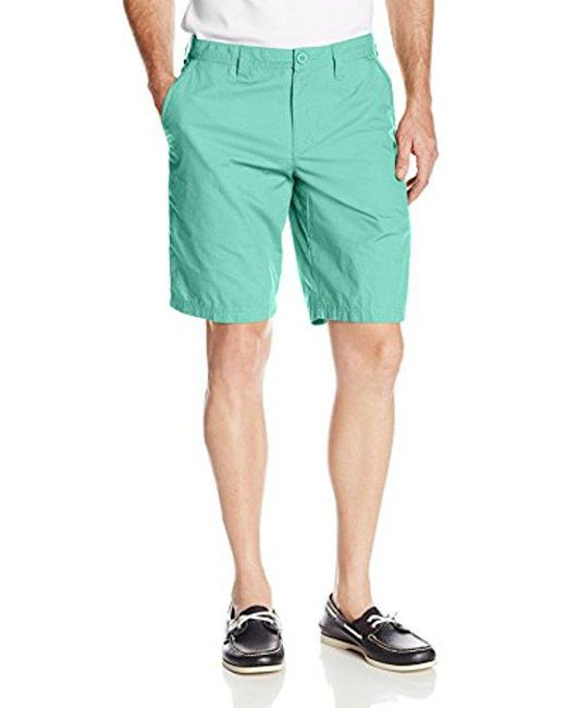 Columbia - Green Washed Out Short for Men - Lyst
