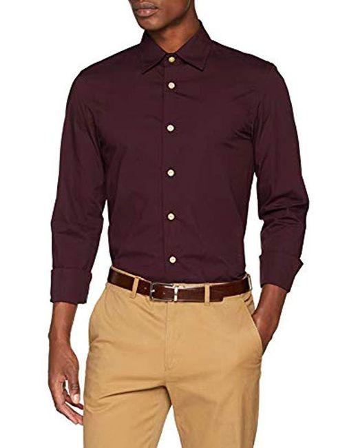 cae5880eeae G-Star RAW Core Super Slim Shirt L s Sweatshirt in Purple for Men ...