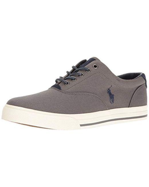 Polo Ralph Lauren - Black Vaughn-sk Sneaker for Men - Lyst