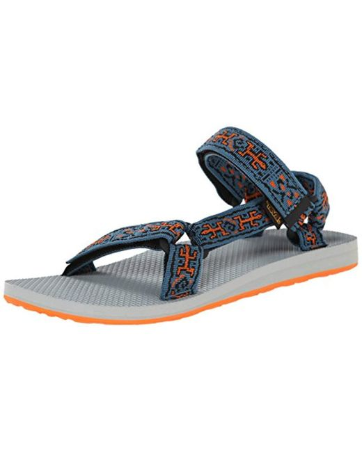 5702cce14fef Teva - Blue Original Universal Sandal for Men - Lyst ...