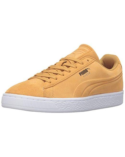PUMA - Metallic Suede Classic Debossed Q3 Fashion Sneaker for Men - Lyst ... d60386c63