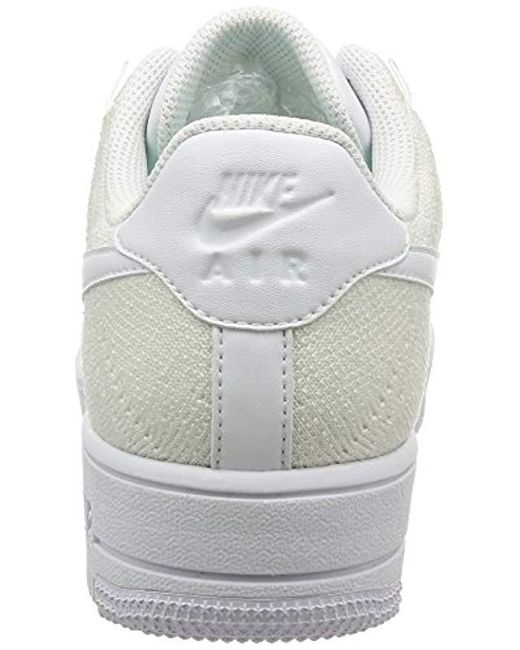 half off 47e0b d9002 Nike Af1 Ultra Flyknit Low, White/white in White for Men - Lyst