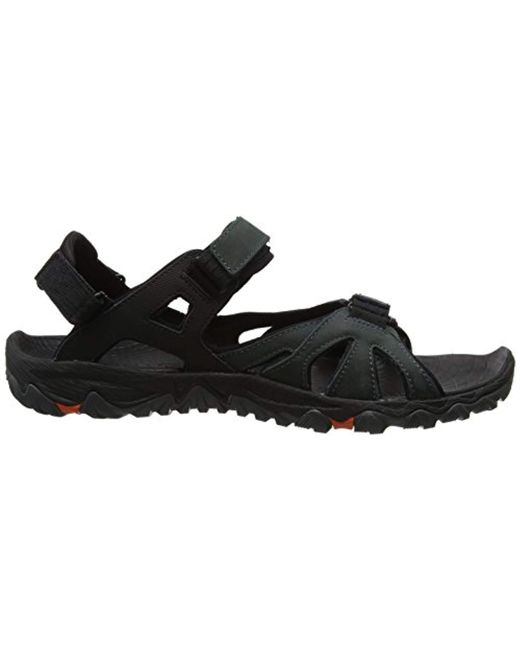 7605a818d80c ... Merrell - Gray  s All Out All Out Blaze Sieve Convert Hiking Sandals  for Men ...