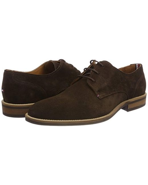 Men's Brown Essential Suede Lace Up Derby