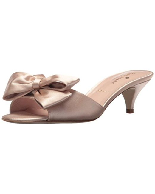 Kate Spade - Multicolor Plaza Heeled Sandal - Lyst