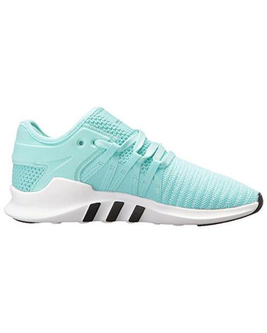 lyst adidas originali eqt racing avanzata w scarpe da ginnastica in blu