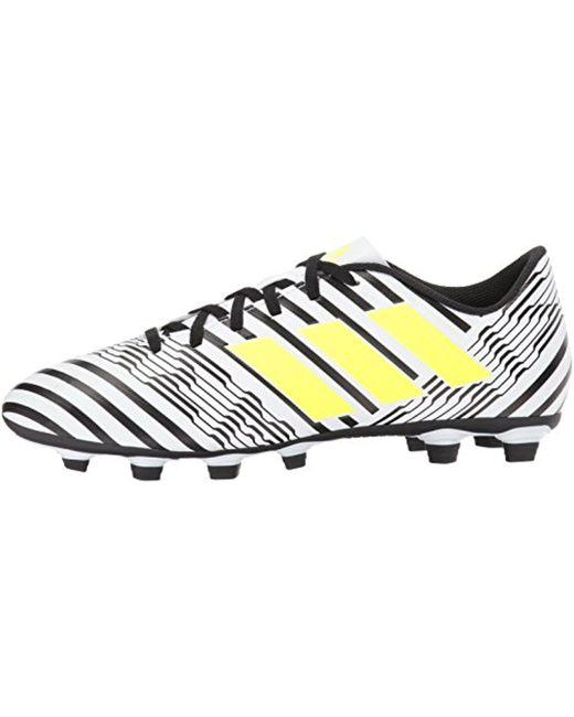lyst adidas nemeziz fxg scarpa da calcio per gli uomini.