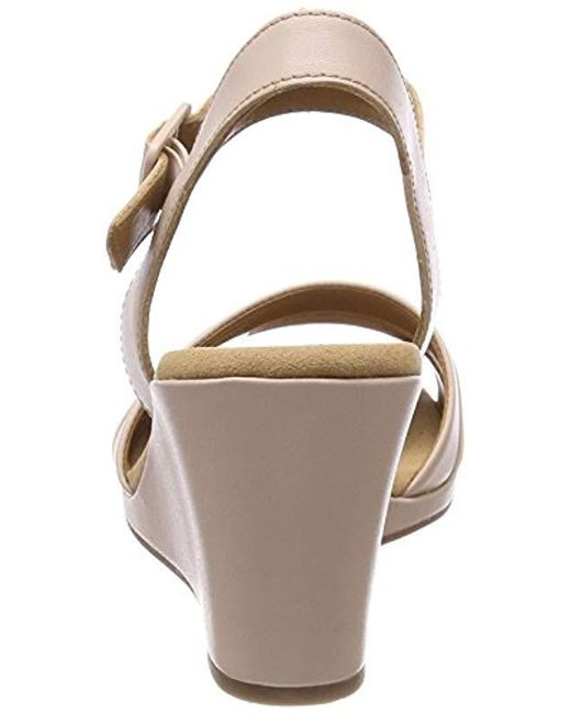 6a08e297887a Clarks Lafley Aletha Ankle Strap Sandals in Pink - Save 2.0% - Lyst