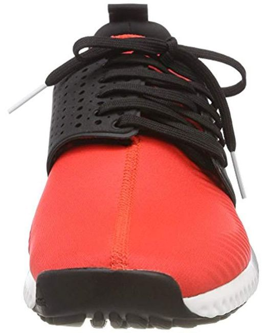 super popular 53350 0436b ... Adidas - Red Adicross Bounce-textile Golf Shoes for Men - Lyst ...