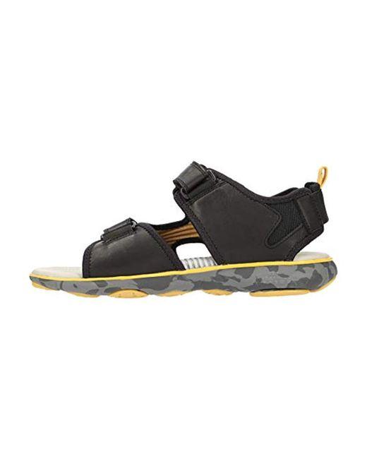 Dauerhafter Service neue Fotos gut aussehen Schuhe verkaufen Geox U Nebula L B Open Toe Sandals in Black for Men - Lyst