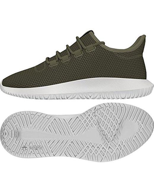 lyst adidas originals tubuläre schatten sneaker in grün für männer