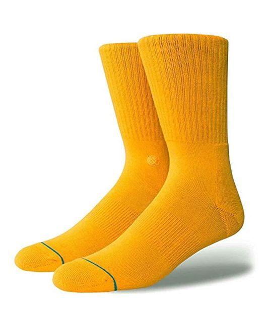 Stance - Metallic Icon Classic Crew Sock for Men - Lyst