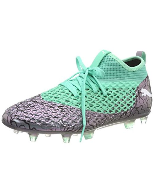 444a0a114354 PUMA Future 2.2 Netfit Fg ag Footbal Shoes in Green for Men - Save ...