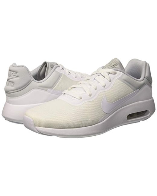huge discount 03fcc a1ab1 ... Nike - White Air Max Modern Essential Low-top Sneakers for Men - Lyst  ...
