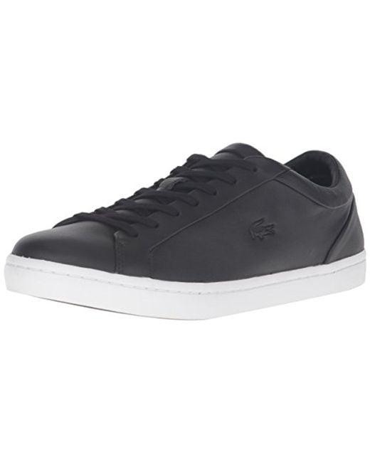 87b4198f848e6 ... reduced lacoste black straightset 316 1 cam fashion sneaker for men lyst  c4e1b ef8d7