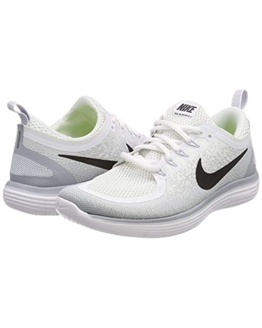 d7f522422344 ... Nike - Gray Free Rn Distance 2 Running Shoes for Men - Lyst ...
