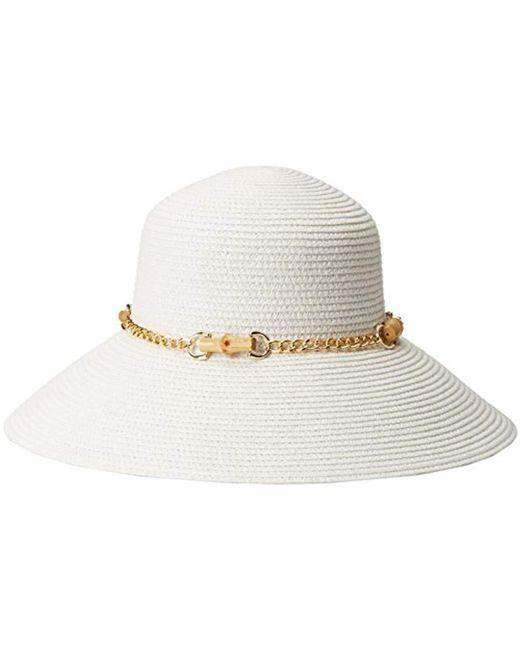 95f8fe371c7 Gottex - White San Remo Packable Sun Hat