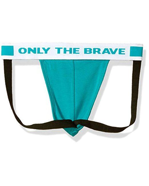 7387827df DIESEL Jocky Fresh And Bright Jockstrap in Blue for Men - Save 26 ...