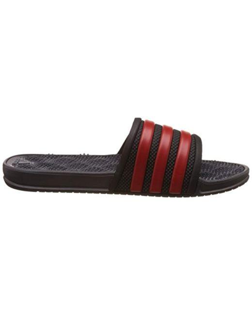 b065f71dc915fa ... Adidas - Multicolor Adissage 2.0 Stripes Chanclas For for Men - Lyst ...