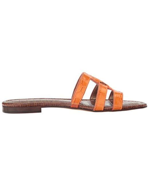 8c76f0b85cb ... Sam Edelman - Orange Berit Slide Sandal - Lyst ...