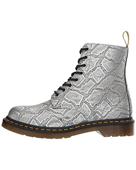 Dr. Martens1460 VEGAN CHROME PASCAL - Lace-up boots - dark purple chrome metallic Obb5NKDr