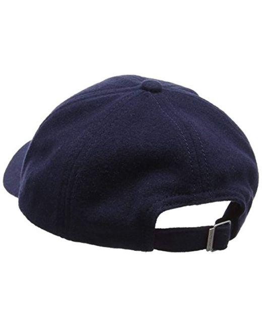 GANT Melton Mens Cap (aw17) in Blue for Men - Save 39% - Lyst 6947e962b034