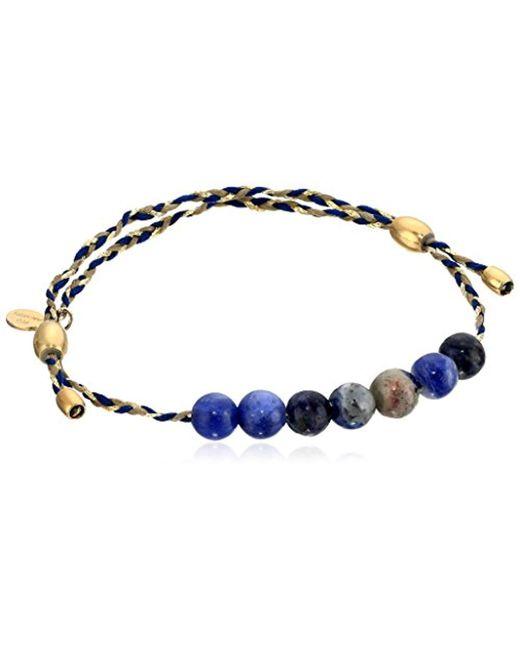 ALEX AND ANI - Blue S Sodalite Precious Threads Bracelet - Lyst