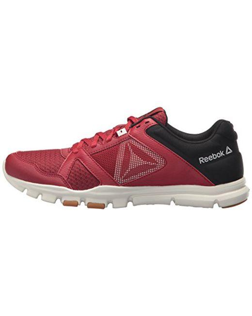 ... Reebok - Red Yourflex Train 10 Mt Cross Trainer for Men - Lyst ... a7a0936e0