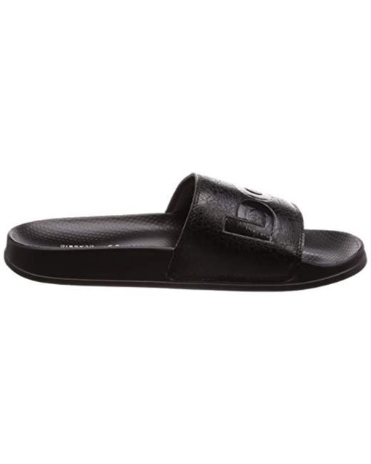 a77cb6deb7a2fb ... Reebok - Black Unisex Adults Classic Slide Beach   Pool Shoes for Men  ...