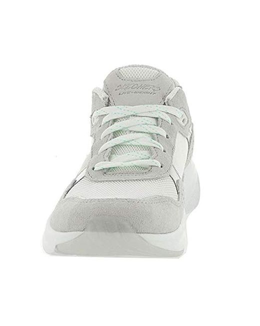 5e11632dba ... Skechers - White Meridian-no Worries Trainers - Lyst ...