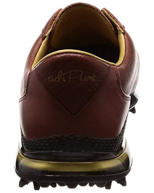 on sale 51aa1 ebc16 ... Lyst Adidas - Brown s Adipure Tp 2.0 Golf Shoes for Men ...