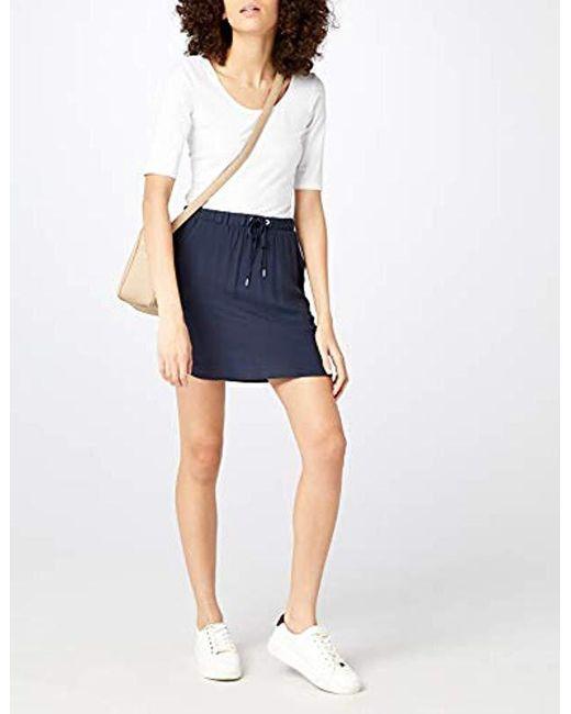 3feb302348 ... Vero Moda - Blue Vmboca Nw String Short Skirt Noos - Lyst ...