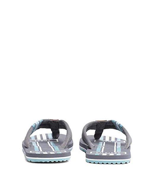 05bd95ae16a ... Tommy Hilfiger - Gray Badge Textile Beach Sandal