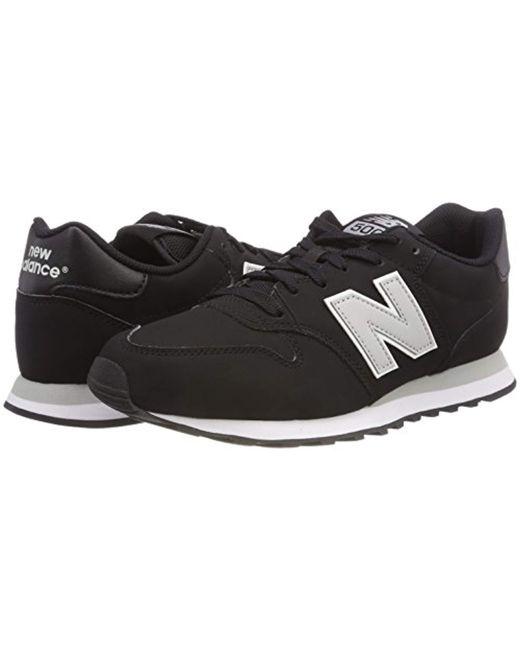 ... New Balance - Black Gm500bkg Trainers for Men - Lyst ... 52221488930