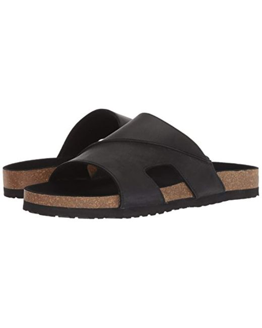 dc182709314b ... Dr. Scholls - Black Bazar Slide Sandal for Men - Lyst ...