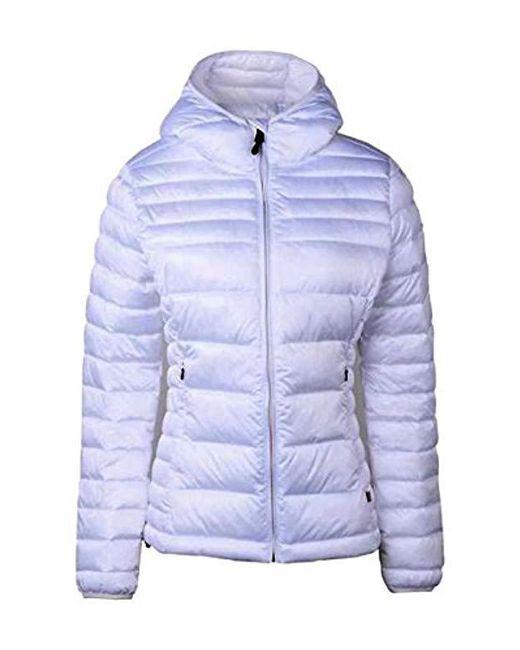 Napapijri - Blue Aerons Wom Hood Jacket - Lyst