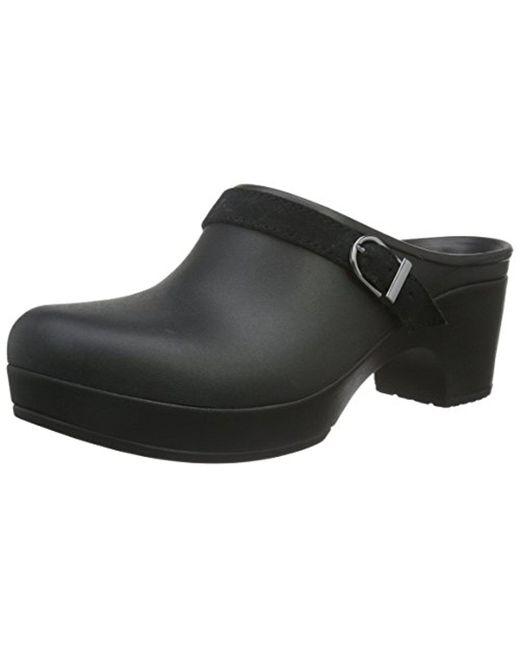 Crocs™ - Black Sarah Mule Clog - Lyst