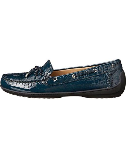Geox - Blue Jamilah2fit6 Boat Shoe - Lyst