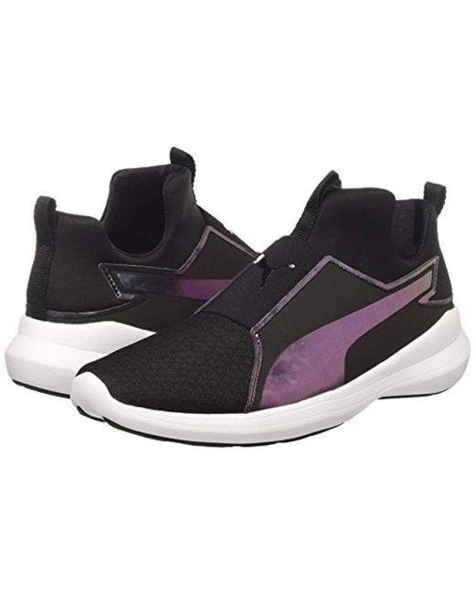 1c771f2b367e ... PUMA - Black  s Rebel Mid Wns Swan Low-top Sneakers