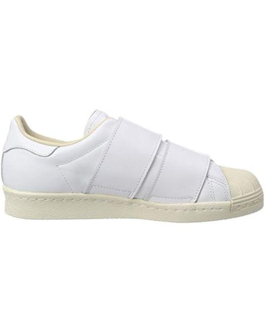 best service 77006 ad609 ... Adidas - White Superstar 80s Cf W for Men - Lyst ...