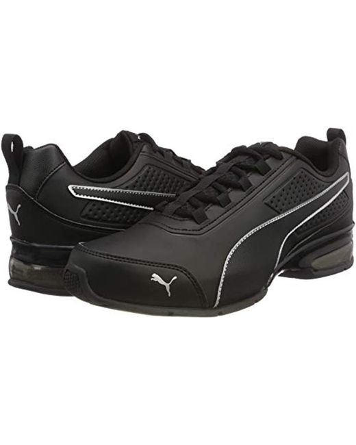 PUMA Unisex Adults' Leader Vt Sl Training Shoes in Black for