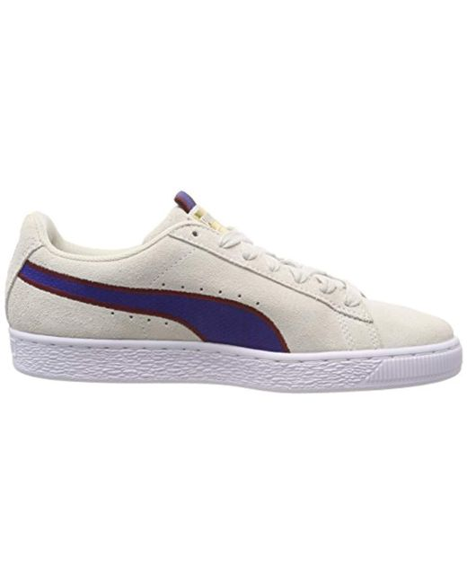 ee709014f095 ... PUMA - Multicolor Unisex Adults  Suede Classic Sport Stripes Low-top  Sneakers for Men ...