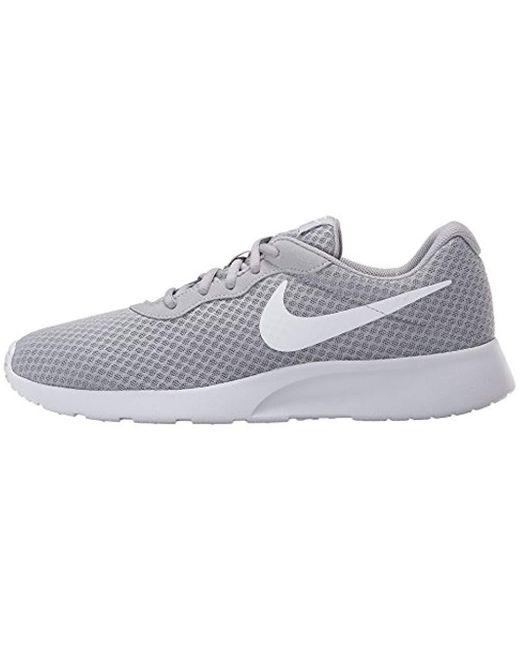 reasonably priced pretty cheap on feet shots of Nike Tanjun Wide (4e) Wolf Grey/white Running Shoe 9 4e Us in Gray ...