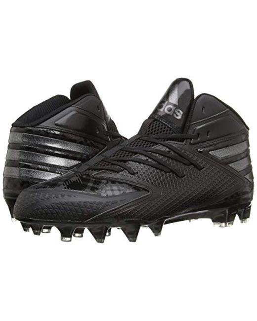 8672937d6f716 ... Adidas - Black Freak X Carbon Mid Football Shoe for Men - Lyst ...