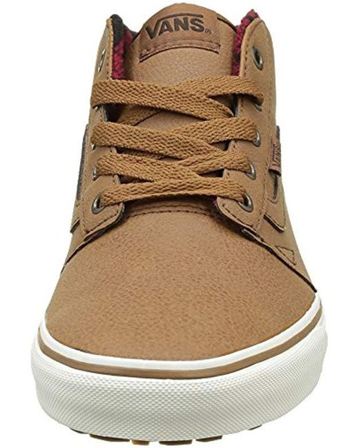 97f35ae8841566 Brown Lyst Low Mid Chapman Men For Vans Sneakers Top Mte 4BqfqnOd