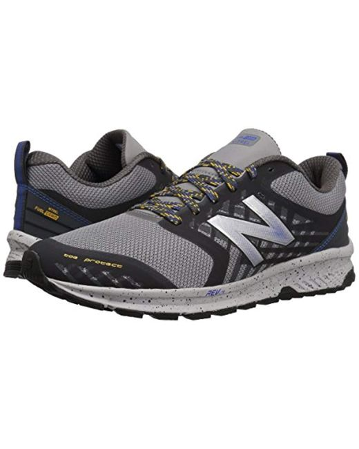 b1536e9b2a800 New Balance Nitrel Running Shoes in Gray for Men - Save 20% - Lyst