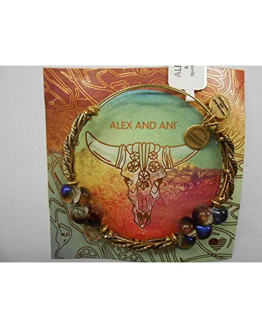 ALEX AND ANI - Metallic Spirit Spiral Ewb, Bangle Bracelet - Lyst