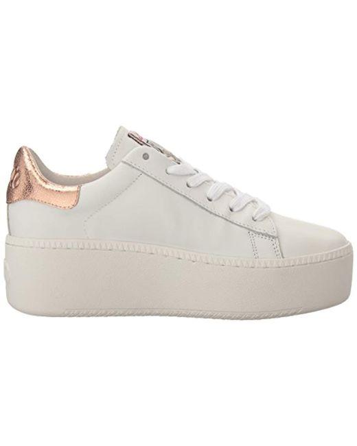 cdcd784debc Lyst - Ash Cult Platform Sneaker White ariel in White - Save 58%